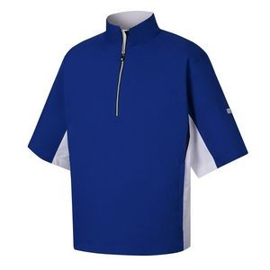FootJoy® HydroLite™ Royal Blue Short Sleeve Rain Shirt
