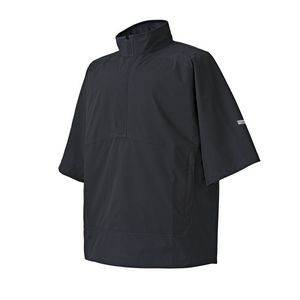 FootJoy® Hydrolite™ Short Sleeve Pullover Rain Shirt (Black)