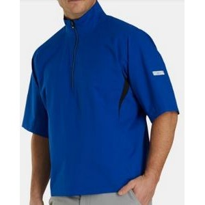 FootJoy® Hydrolite™ Short Sleeve Rain Shirt (Royal+Black)