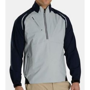 FootJoy® DRYJOYS® Select LS Rain Shirt (Silver/Navy)