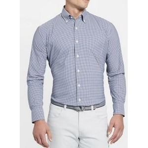 "Peter Millar ""Mimi"" Performance Check Button Down Shirt"